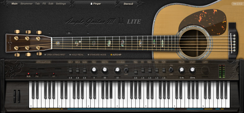 ample guitar m lite 2