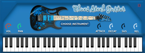 fs blues steel guitar